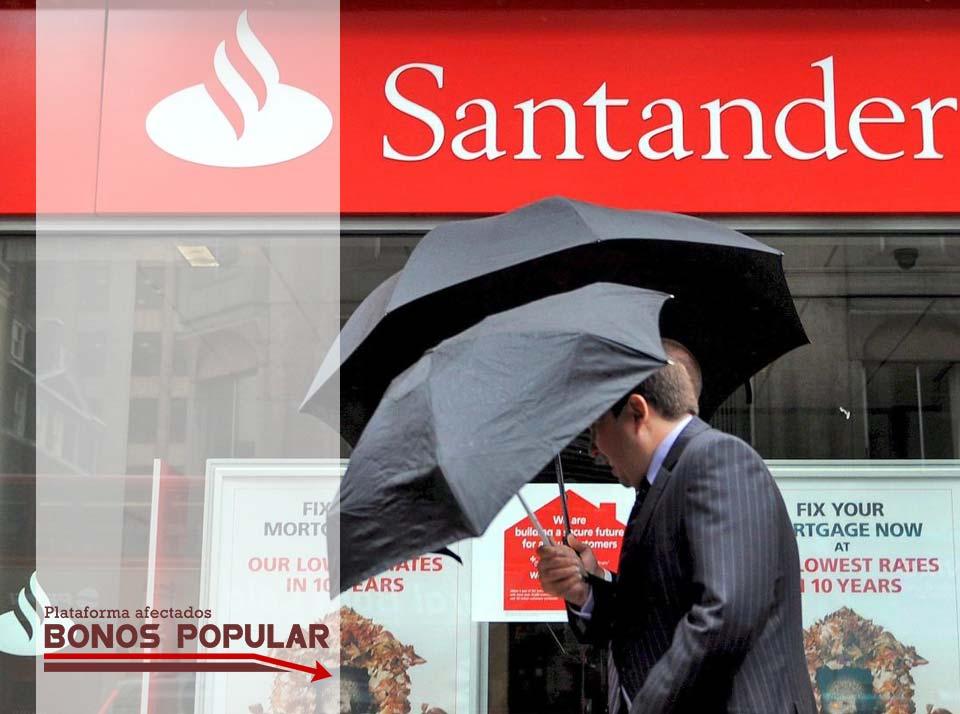 LA OFERTA ENVENENADA DE BANCO SANTANDER. NO CAIGAS EN EL ERROR. BONOS A CAMBIO DE RENUNCIA  A ACCIONES JUDICIALES